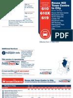 610 610X 619 Timetable 11MAY09 V2