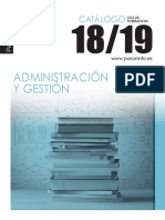 Catalogo Ciclos Administración 2018 2019