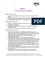 Gout Management Guidelines Updated May 2016