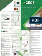 Brouchure GEO5 Software Leaflet ES