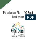 Cape Coral Parks Concepts