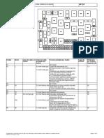 Caja de Fusibles y Relés, Fusibles en El Soporte de Relés 2