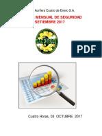 Informe Mensual Setiembre 2018