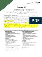 Crisis hipertensivas urgencias