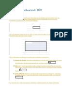 Prueba Curso de Excel Avanzado 2007