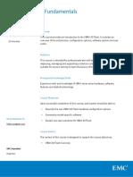VMAX All Flash Fundamentals Cource Description