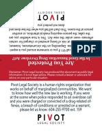 Good Samaritan Rights Card
