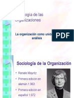 Renate Mayntz  Sociología de las organizaciones.ppt