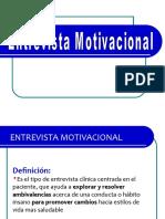 La entrevista motivacional