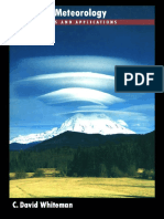 Whiteman, 2000 [book] Mountain Meteorology Fundamentals and Applications