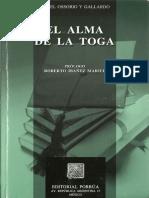 Angel Ossorio - El Alma de La Toga (1)