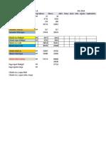 Excel Para Cálculos Agua y Luz