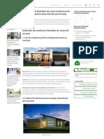 10 Fachadas de Casas Modernas de Un Piso _ Construye Hogar