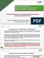 Guia UnADM Revision de Estudios 2018-1