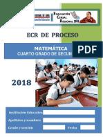 Ecr Proceso 4t0 Sec Matemática