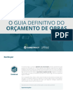 eBook Guia Definitivo Do Orcamento de Obras