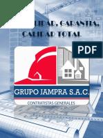 Brochure Grupo Jampra s.a.c. - 2018