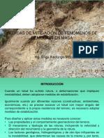 Medidas de Prevencion y Mitigacion-Deslizamientos