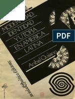 QUIJANO - Modernidad identidad y utopia en America Latina (1988).pdf