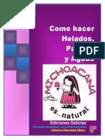 La Michoacana - Como hacer Helados, Paletas y Agujas.pdf