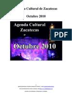 Agenda Cultural de Zacatecas Octubre 2010