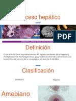 ABSCESO HEPÁTICO - CLX QX