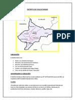 Distrito de Chucatamani