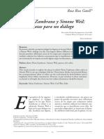 María Zambrano y Simone Weil notas para un dialogo.pdf