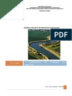 Exemplo Projeto Irrigação Sulcos