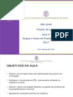 PMI2049-Aula 03 Fases de Projeto Mineral (2017)