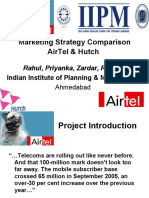 Marketing Strategy Comparison of Airtel and Hutch 20631