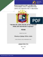 Tesis Museo en Taquile Montoya_quispe_silvia_anita
