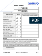 Panalpina 7-Point Container Inspection Checklist