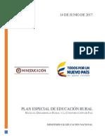 Plan Especial de Educación Rural