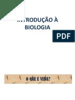 Introducao a Biologia 1