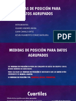 Medidas de Posición Para Datos Agrupados