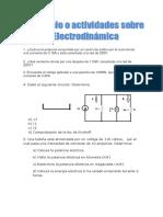 Ejercicio Sobre Electrodinámica T