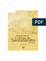 Diario Do Sitio da Colônia do Sacramento (1735-1737)
