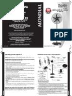 Manual Ventilador de Parede VC-PRO-55 - 04.15 Rev. 05 - IMPRESSÃO