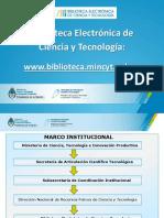 Biblioteca Electronica Presentacion