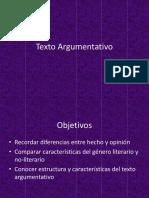 ppt texto argumentativo + contexto producción