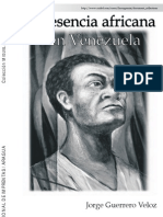 30980235 Jorge Guerrero La Presencia Africana en Venezuela