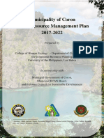 Municipality of Coron (Resource Management Plan)