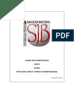 Silabo de Patología Clínica y Transfusional 2018-Ii_20180806114337