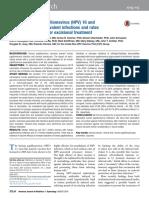 Impact of Human Papillomavirus (HPV) 16