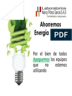 Ahorremos Energía Eléctrica
