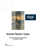 Nuclear Reactor Types