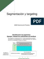 Segmentación y targeting