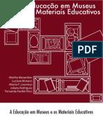 A Educação Em Museus e Os Materiais Educativos