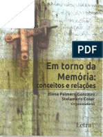 Memoria e Historia Antonio Esteves